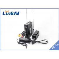 Buy cheap Military Manpack COFDM Transmitter , hdmi wireless transmitter RS485 With 256 - from wholesalers