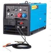 Quality 4.5kw Dielse Welding Generator Set Silent Type Diesel DW190SE for sale