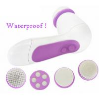Quality 6 in 1 beauty care product electric facial cleansing brush multifunction face massager for sale