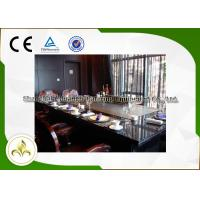 Commercial / Residential Teppanyaki Grills Table With Exhaust & Purifier System