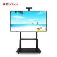 Quality LED Intelligent Interactive Flat Panel All In One PC Touch Screen With Stand for sale