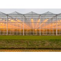 Quality High Transmittance Plastic Panels Greenhouse Light Steel Structure Frame for sale