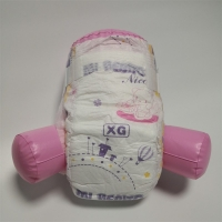 Buy cheap Non Woven Cotton Hydrophilic Baby Diapers Medium Size Diaper Pants from wholesalers