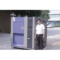 Buy cheap Laboratory temperature range-65℃ ~ +150℃ 150L 3-Zone thermal shock test  chamber from wholesalers