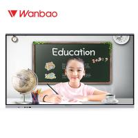 Quality Education Touch Screen Interactive Whiteboard Conference Interactive Flat Panel for sale