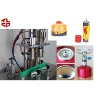 Buy Semi-Automatic Gas Filling Machine For LPG / Butane Gas / Cartridge / Cassette Refilling at wholesale prices