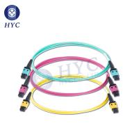 Quality 8 12 24 Cores MPO/MTP Patch Cord OM2 OM3 OM4 Fiber Optic Cable Jumpers for sale