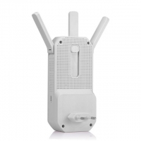 Quality Mobile Dual Band 2.4G 5.8G Long Range WiFi Repeater With 3 Antenna for sale