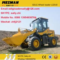 Quality brand new mini loader with HD bucket 1.0M3 , sdlg wheel loader 2 ton LG918 from chinese supplier for sale