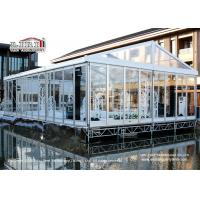 Buy cheap 100 People Luxury Transparent Aluminium Tent  with Air Conditioners for Weddings from wholesalers