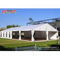 Buy Wind Resistant Romanic Wedding Marquee Tent Longer - Term Use Customized Color at wholesale prices