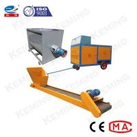 China 12m3/H Block Making Foam Concrete Pump With Mixer on sale