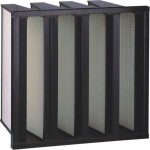 Quality Media Plastic Frame Fiberglass Air Filters Air Handling Unit for sale