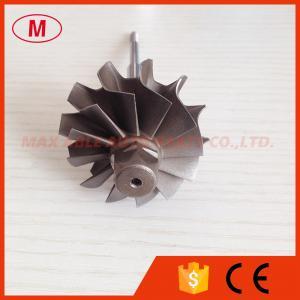Quality K04 42X50mm journal bearing turbo turbine shaft 12 blades for sale