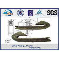 China ISO 9001 Casting Rail Anchors For Fastening Railway Sleepers 60Si2MnA Material on sale