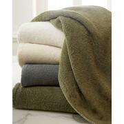 jacquard Bamboo & cotton bath towel with animal design border