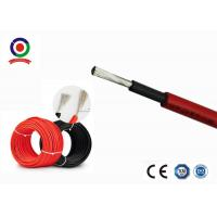 China High Voltage Solar Panel Cable 6mm Durable Good Fire - Resistant Performance on sale