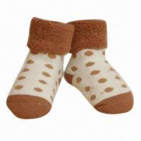 Quality Baby ankle sports socks, made of cotton for sale