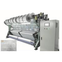 China Computerized Knotless Type Mesh Fabric Making Machine With 200-500rpm Speed on sale