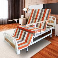 China Handicapped Manual Adjustable Bed With Toilet Multi Functions MD-E23 on sale