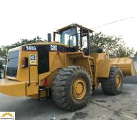 Quality 223.8 Kw Heavy Equipment Wheel Loader , 8 Ton Caterpillar 980G Wheel Loader for sale