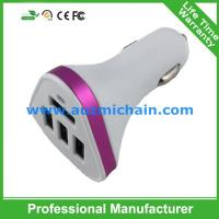 Quality the best usb car charger 4 usb car charger car battery charger for sale