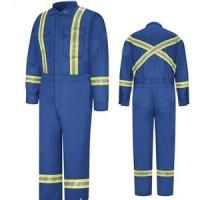 Buy cheap Blue / Yellow Men Winter Cotton Padded Flame Retardant Workwear XXS - 5XL from wholesalers