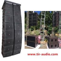 China stadium sound /line arrays 12 /passive speaker /church sound/plywood box with neodymium driver  for 2500 people on sale