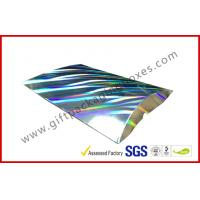 Quality Laser Silver Card board Packaging A4 B5 Document Card Board Packaging for sale