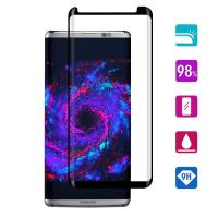 Anti UV / Glare Smartphone Glass Screen Protector Fingerprint Free 99% High Clear