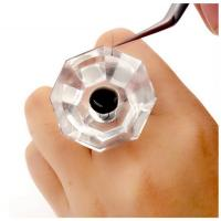 Buy cheap Durable Eyelash Extension Starter Kit , Crystal Glue Rings For Eyelash Extensions from wholesalers