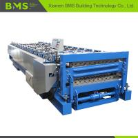 China Stable Double Layer Roll Forming Machine , Metal Roof Panel Roll Forming Line on sale