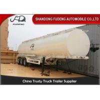 Buy cheap 10000 Gallon Fuel Tanker Semi Trailer , 3 Cabins Gasoline Semi Truck product