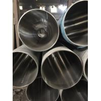 Quality 304 Stainless Steel Welded Pipe 400# Mirror Finished For Staircase Handrail for sale