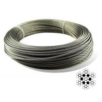 China Aircraft Stainless Steel Wire Rope Cable For Railing / Decking / DIY Balustrade on sale