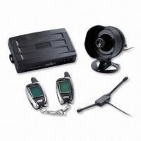 Quality FM-FM Two-way Car Alarm System with Engine Starter for sale