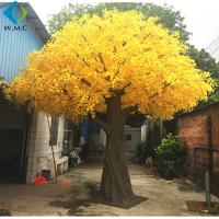 Home Decoration Artificial Ginkgo Tree With or Without Nuts Type 6m Height for sale