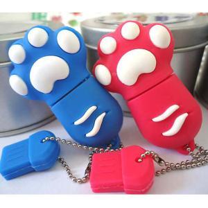 China Cute Cat Claw Carton USB Flash Drive, PVC Gift Usb 2.0 Cartoon Usb Stick Bulk Cheap on sale