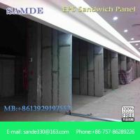 China Light weight and fast material hanyi sandwich panels for shopping mall wall 2440*610*100mm on sale