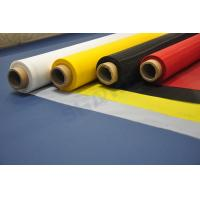 Quality Highly Controlled Precision Polyester Screen Printing Mesh White Color SGS Approved for sale