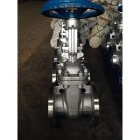 China API600 BB High Pressure Gate Valve With Self - Aligning Fully Supported Discs on sale