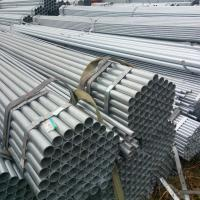 Quality ASTM A53 / BS1387 / EN39 Standard Hot Dip Galvanized Steel Tuping GI Pipe Round Shape for sale