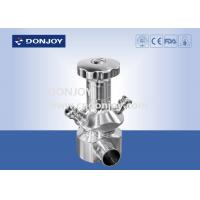 China 1 - 4'' sanitary level aseptic sampling valves with tank connector on sale