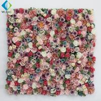 40*60cm Artificial Rose Wall , Wedding Use Hydrangea Flower Wall Panel for sale