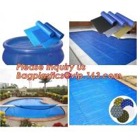 China Outdoor Bubble Solar Pool Cover Swimming Pool Winter Polycarbonate Solar Swimming on sale