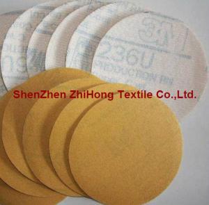 Quality Top quality coating Velcro hook loop sandpaper polishing disks kit for sale