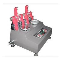 China Fabric Rotary Abrasion Tester , Taber Abrasion Machine For Textile Material on sale