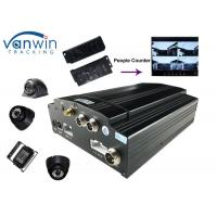 Quality Linux Vehicle Mobile DVR Wireless Tally Passenger Counter System WIFI GPS 3G Passenger for sale