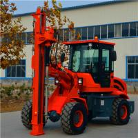 Quality 2000mm depth ground hole screw piling horizontal drilling machine GS 2000 for sale