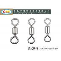 Buy cheap High strength 304# Stainless Steel Fishing Swivels / lures and Barrel with snap product